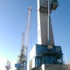 Gottwald HMK 7408 mobile harbour crane for sale