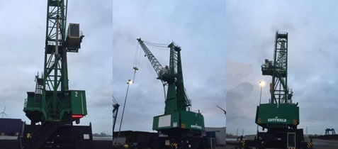 Gottwald mobile harbour crane HMK 170 E for sale