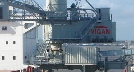 Vigan gantry shipunloader for sale