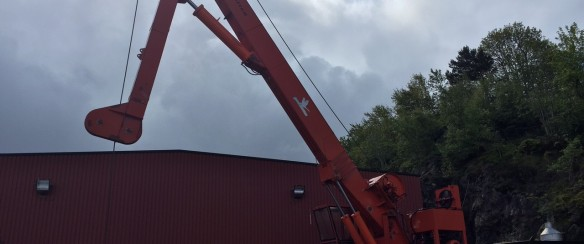 Good Crane knuckleboom crane for sale