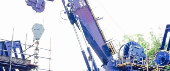 50 TON AHC KNUCKLEBOOM CRANE FOR SALE