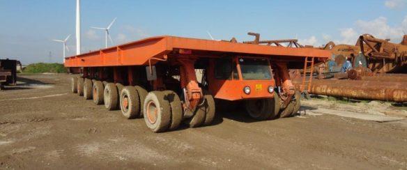 370 TON SWL SHIPYARD TRANSPORTER FOR SALE