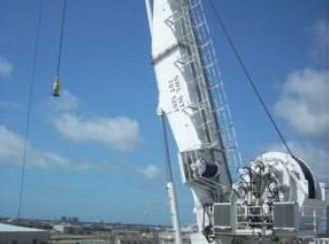 120 TON NOV SUBSEA KNUCKLEBOOM CRANE FOR SALE