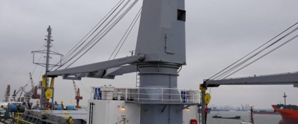 36 TON @ 24M SHIP CRANE FOR SALE