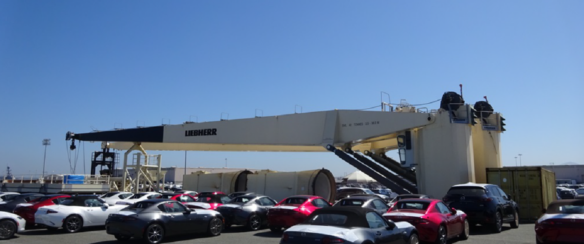 40 TON @ 38M LIEBHERR DECK CRANES FOR SALE