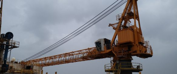 65 TON LIEBHERR OFFSHORE CRANE FOR SALE