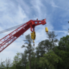 42 TON OFFSHORE KINGPOST CRANE FOR SALE
