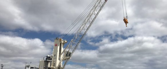 50 TON MOBILE HARBOUR CRANE FOR SALE